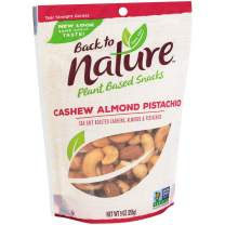 Back to Nature Trail Mix, Non-GMO Cashew Almond Pistachio Blend, 9 Ounce