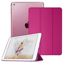 Fintie Case for iPad Mini 3/2 / 1 - Lightweight Smart Slim Shell Translucent Frosted Back Cover Protector Supports Auto Wake/Sleep for Apple iPad Mini 1 / Mini 2 / Mini 3, Magenta
