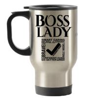 Boss Lady Stainless Steel Travel Insulated Tumblers Mug- gifts for women