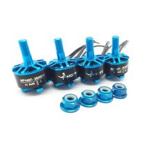 HGLRC Brushless Motor Blue 1407 3600KV Support 3S 4S Battery DIY for FPV Racing Drone Quadcopter Complete Motors (4PCS Blue Motors)