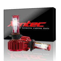 Xentec H3 LED Headlight Foglight Bulb for any H3 Halogen Headlight Bulb upgrade to LED (1 pair, Cool White)