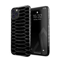 BURGA Phone Case Compatible with iPhone 11 PRO - Darkest Path Savage Wild Black Snake Skin Cute Case for Women Thin Design Durable Hard Plastic Protective Case