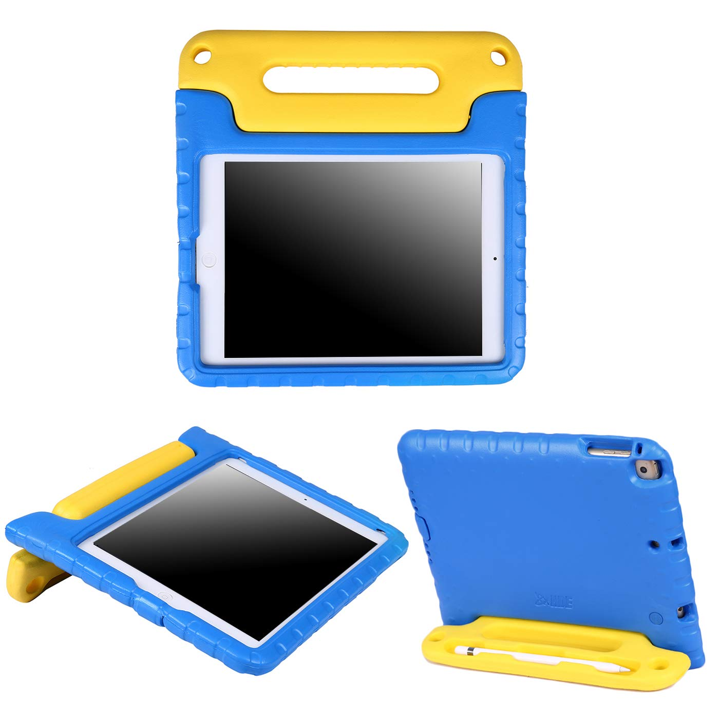 HDE iPad 6th Generation Case for Kids – iPad 9.7 inch 5th and 6th Generation Cases for Kids Shock Proof Protective Light Weight Cover with Handle Stand for Apple iPad 9.7 with Pencil Holder