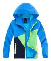M2C Boys Girls Waterproof Active Jackets Hooded Lightweight Windbreaker