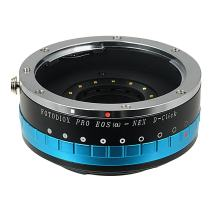 Fotodiox Pro Lens Mount Adapter - Canon EOS EF Lens (NOT EF-S Lens) D/SLR Lens to Sony Alpha E-Mount Mirrorless Camera Body, with Built-in Aperture Iris