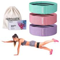 Hurdilen Resistance Bands Loop Exercise Bands Booty Bands,Workout Bands Hip Bands Hip Resistance Band for Legs and Butt,Activate Glutes and Thigh