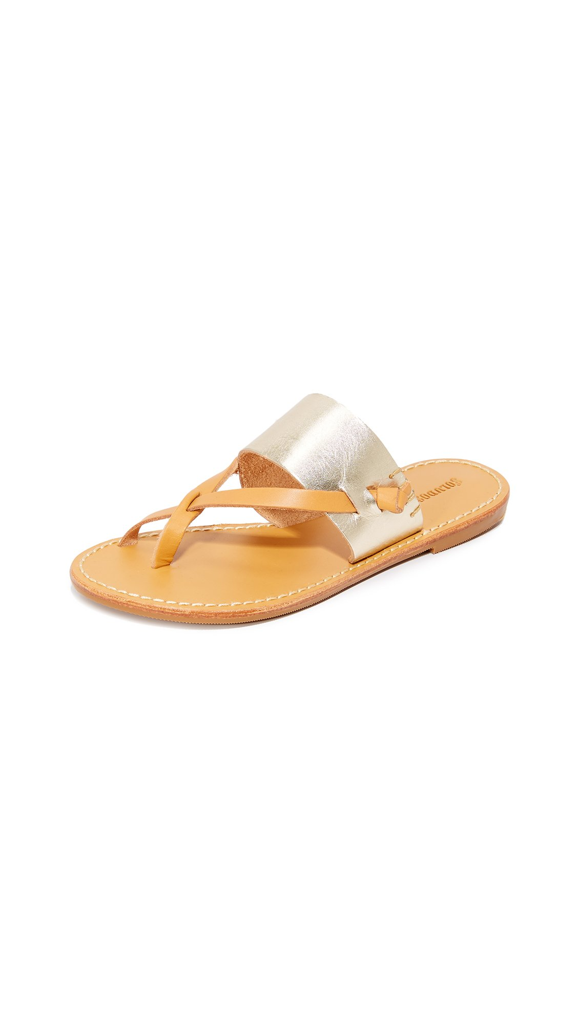 Soludos Women's Slotted Thong Sandals
