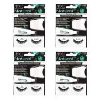 Ardell False Eyelashes Starter Kit Natural 101 Black 4 Pack