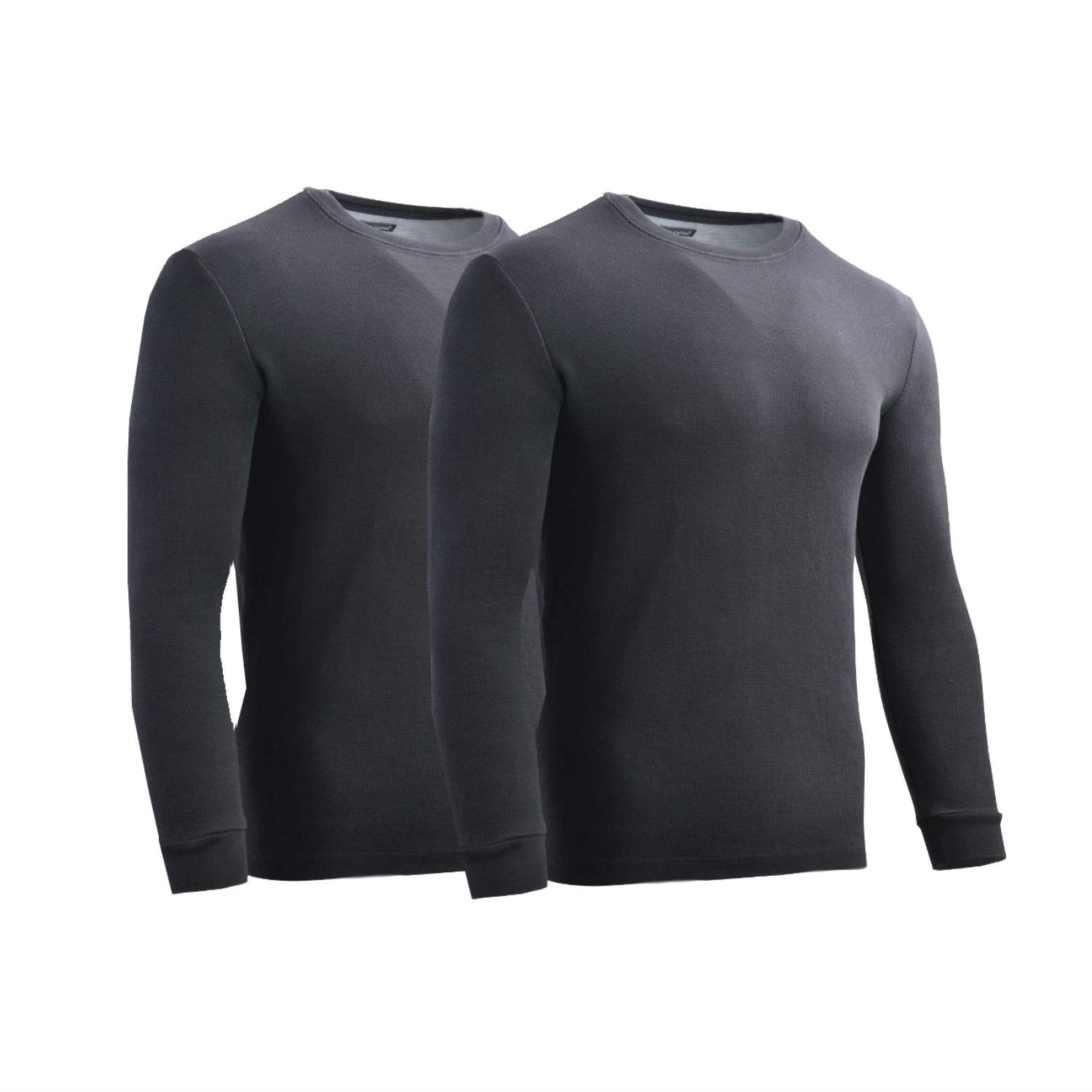 Rich Cotton Men's Tick Midweight Waffle Thermal Shirt Long Sleeve Top Underwear 1 2 3 or 6 Pack