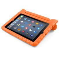 BUDDIBOX iPad Mini Case, [EVA Series] Shock Resistant [Kids Safe][STAND Feature] Carrying Case for Apple iPad Mini 1 / 2 / 3 / 4 (Orange)