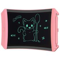 ORSEN LCD Writing Tablet, 8.5-inch Drawing Doodle Board Drawing Tablet, Boys Girls Gifts Toys for 3 4 5 6 7 Year Old Girls Boys(Pink)