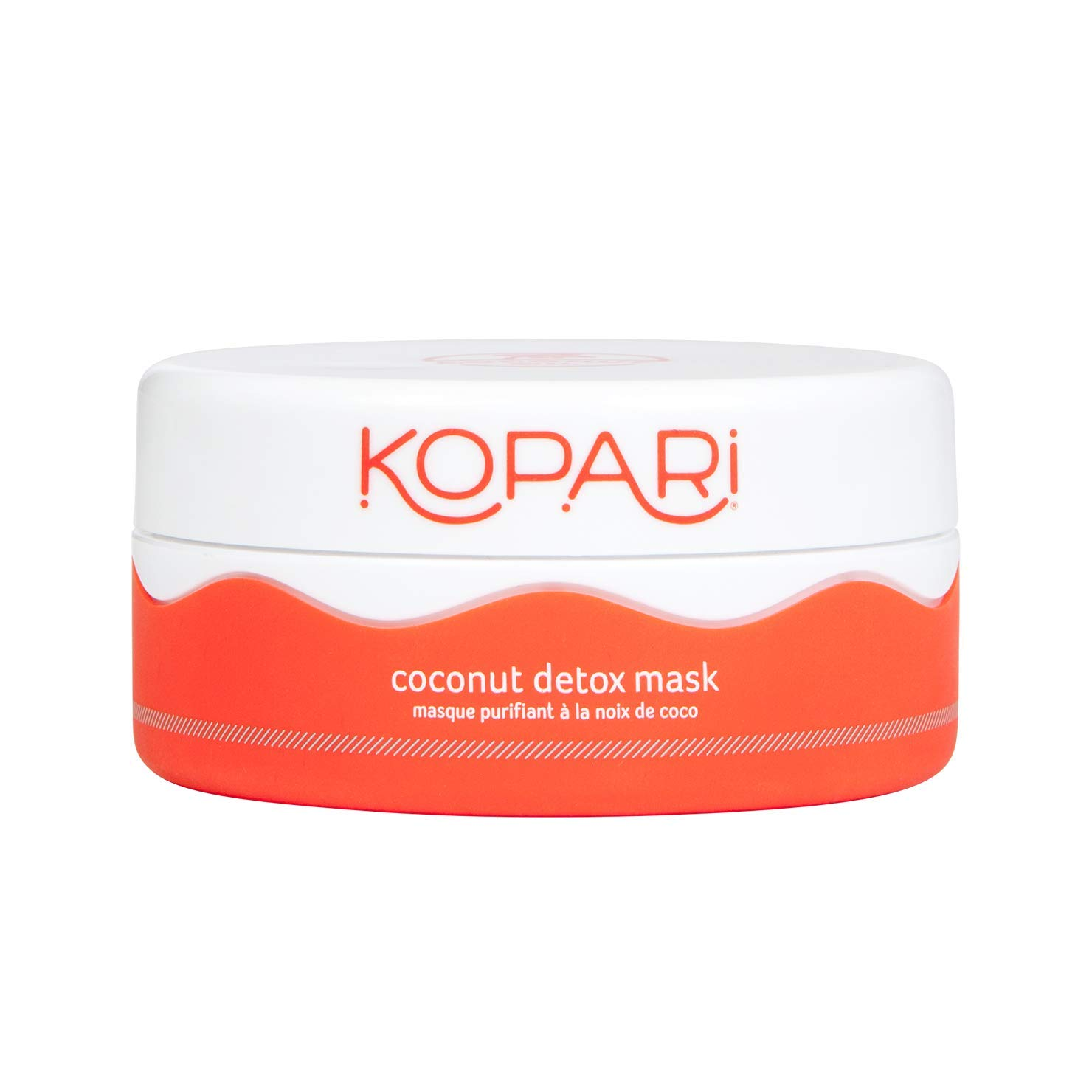 Kopari Coconut Detox Mask- Clay Mask Made With Superfoods, Green Tea, Probiotics, Coconut Oil And More to Remove Impurities and Replenish Skin