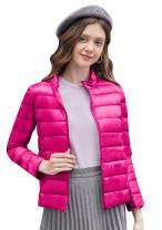 EFOFEI Womens Winter Ultra Light Weight Outwear Packable Puffer Down Coat