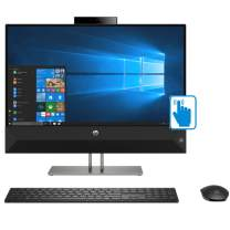"""HP Pavilion All-in-One 27st Premium Home and Business AIO Desktop (Intel 8th Gen i7-8700T 6-Core, 32GB RAM, 4TB Sata SSD, 27"""" QHD 2560x1440 Touch, NVIDIA GeForce MX130, WiFi, Win 10 Home)"""
