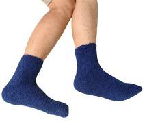 3 Pack Men's Winter Warm Floor Sock Super Soft Cozy Fuzzy Slipper Home Socks by Elfjoy