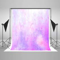 Kate 10×10ft Watercolor Abstract Photography Backdrop Purple Portrait Photo Background Cotton Cloth Photo Studio Booth Free Wrinkles Props