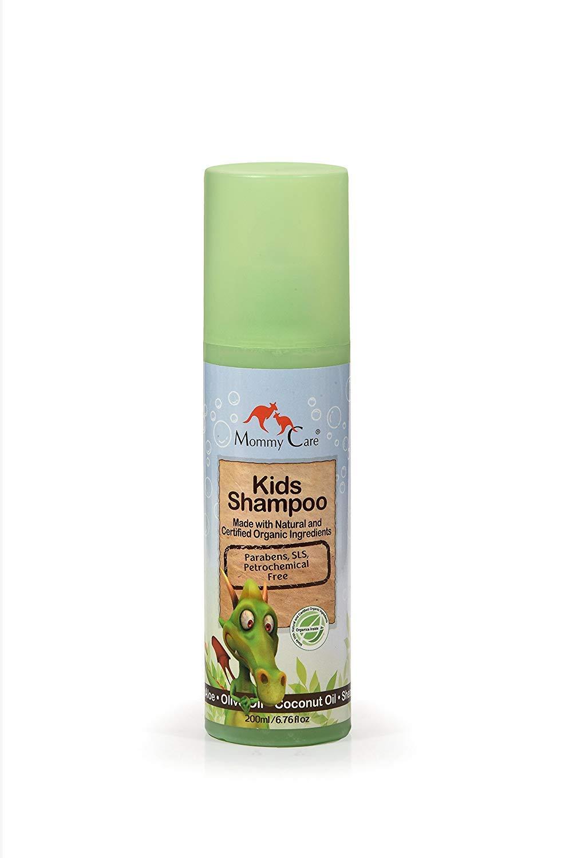 Baby Shampoo Organic Calendula for Newborn Babies Sensitive Natural Eco Child Hair Care for Bath Time 6.76 fl.oz / 200 ml