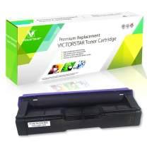 Compatible Toner Cartridge SP C250 C261 Black High Capacity 2300 Pages for RICOH Aficio SP C250DN C250SF C261SFN C261SFNw C261DNw Laser Printers VICTORSTAR
