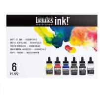 Liquitex Professional Acrylic Ink! Essential Set, Multiple Colors, Set of 6 (3699314)
