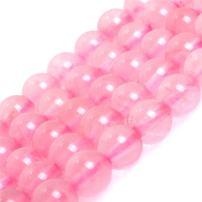 "JOE FOREMAN Madagascar Rose Quartz Crystal Beads for Jewelry Making Natural Gemstone Semi Precious 4mm Round Grade 15"""