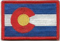 Colorado Tactical Flag Patch