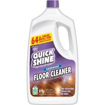 Quick Shine High Traffic Hardwood Floor Cleaner, 64 Fl. Oz, White