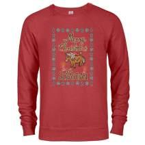 Parks and Recreation Merry Christmas Li'l Sebastian Lightweight Crew Neck Sweatshirt