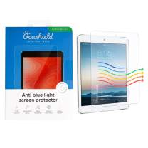 Ocushield Anti Blue Light, Tempered Glass Screen Protector for Apple iPad Mini 1/2/3/4 - Protect Your Eyes for Better Sleep (iPad Mini 1/2/3)