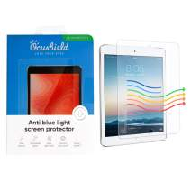 Ocushield Anti Blue Light, Tempered Glass Screen Protector for Apple iPad Mini 1/2/3/4 - Protect Your Eyes for Better Sleep (iPad Mini 1/2/3)