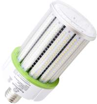 100 Watt E39 LED Bulb - 13,000 Lumens - 3000K / 2700K -Replacement for Metal Halide, HID or CFL - High Efficiency 130 Lumen/watt - 360 Degree Lighting - LED Corn Light Bulb