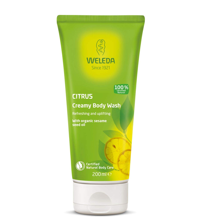 Weleda Invigorating Body Wash, Citrus Creamy - 6.8 Oz, 6.8 Ounces