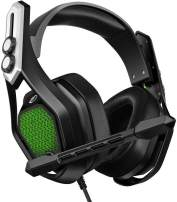 Mpow 7.1 USB Gaming Headset - Surround Stereo Sound - PS4 Headphones with Noise Canceling Mic & RGB Light Over Ear Headphones, Compatible with PC, PS4 Console, Laptop