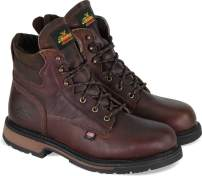 "Thorogood Men's American Heritage 6"" Classic Plain Toe, Safety Toe Boot"
