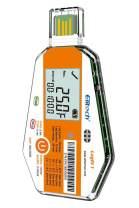 Elitech LogEt 1 Temperature Data Logger Single Use PDF Report USB Port 16000 Points