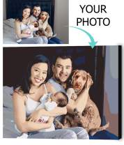 """VATO Photo to Custom DIY Paint by Numbers for Adults,Your Own Private Picture Personalized Customized PBN (16"""" x 20"""")"""