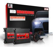 HID-Warehouse 35W DC Xenon HID Lights with Premium Slim Ballast - Bi-Xenon 9007 10000K - 10K Dark Blue - 2 Year Warranty