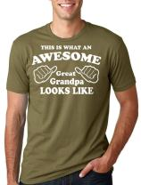 Great Grandpa T-Shirt Gift for Great Grandfather Tee Shirt