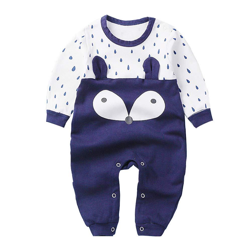 SeClovers Baby Cute Animal Jumpsuit, 3D Frog Pajamas-Toddler Long Sleeve Bodysuit Romper