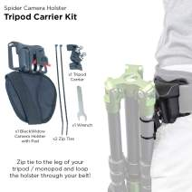 Spider Holster - Tripod Carrier Kit - The Easy and Effective Way to Carry Your Tripod from Your Waist Belt!