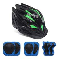 aomigell Kids Helmet for 3-8 Years Toddler Boys Girls Protective Gear Set Knee Elbow Pads Wrist Guards for Bicycle Skateboard Scooter Skating