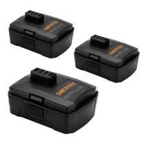 Shentec 3-Pack 12V 3.0Ah Battery Compatible with RYOBI CB120L CB121L BPL-1220 130503001 130503005, 12V Lithium Battery (NOT for CB120N)