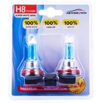 H8 Halogen Headlight Bulb fog light with Super White Light PGJI9-1 12V/35W 5000K, 2 Pack, 2 Yr Warranty…