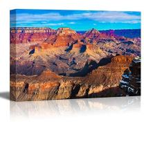 Canvas Prints Wall Art - The Beautiful Landscape of Grand Canyon National Park, Arizona