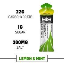 Science in Sport Energy Gel Pack, SIS Isotonic Energy Gel, 22g Fast Acting Carbs, Performance & Endurance Gels, Lemon and Mint - 2 Oz gels (30 Pack)