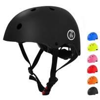 67i Kids Bike Helmet CPSC Certified Toddler Helmet Adjustable Kids Youth Helmet Multi-Sport from Kids to Youth 2 Sizes