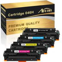 Arcon Compatible Toner Cartridge Replacement for Canon 046 046H CRG-046 for Color ImageCLASS MF733Cdw MF731Cdw MF735Cdw LBP654Cdw Canon MF733Cdw MF731Cdw Laser Printer Toner -Black Cyan Magenta Yellow