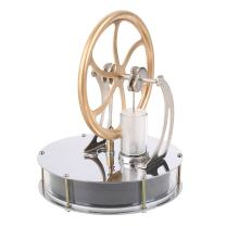 ELENKER Low Temperature Stirling Engine Motor Steam Heat Education Model Toy Kit Run Off the Temperature Difference