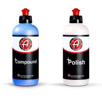 Adam's 2-Step Polishing System 12oz Combo - Silicone-Free, Body Shop Safe Formula - Quick, Professional Correcting and Polishing Results for Clear Coat, Gel Coat, Single Stage Finishes