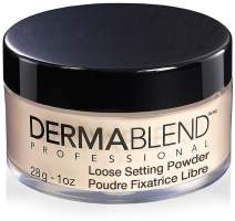 Dermablend Loose Setting Powder, Translucent Powder for Face Makeup, Mattifying Finish and Shine Control, 1.0 oz.