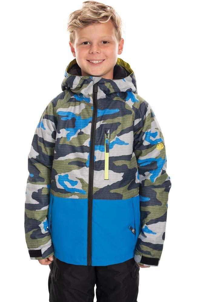 686 Boy's Jinx Insulated Jacket - Waterproof Ski/Snowboard Winter Coat